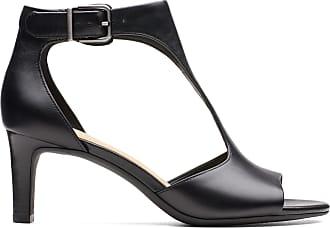 Clarks Womens Sandal Black Leather Clarks Laureti Star Size 10