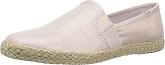 Keds Womens Chillax A-Line Metallic Linen Espadrilles Pink in Size UK 6.5 M