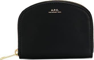 A.P.C. Carteira de couro - Preto