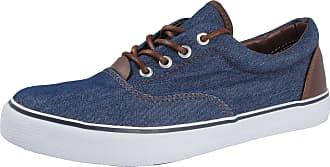 Urban Jacks Mens Harvard Low Top Canvas Lace Up Pumps Plimsoll Trainer Casual Shoes Size 7-12 (UK 6/ EU 40, Navy Blue)