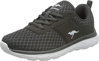 Kangaroos Womens KN-Bumpy Sneaker, Dark Grey, 8.5 UK