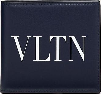 Valentino Garavani Valentino Garavani Uomo Portafoglio Vltn Uomo Blu Bovine Leather 100% OneSize