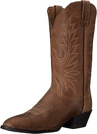 Ariat Ariat Womens Heritage Western R Toe Western Cowboy Boot, Distressed Brown, 5.5 C US