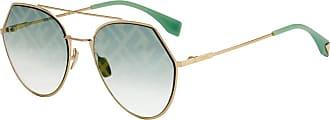 Fendi Fendi Ff 0194/s Sunglasses Woman Gold