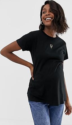 ASOS Camicia bianca senza maniche con carré ricamato