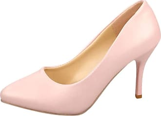 Yvelands Women High Heel Shoes Sexy Bridal Wededing Stiletto Heels Pumps Shoes Slip On Pointed Toe Chrsitmas Party Evening Night Club Shoes for Ladies UK Sanda
