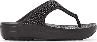 5076688a3db Crocs Tongs compensées Sloane Embellished Flip - CROCS - Noir
