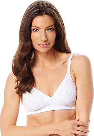 Warner's Daisy Lace Wire Free Bra - 2009 WHITE 38 D