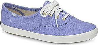 Keds Womens Champion Chalky Canvas Sneaker, Pale Iris, 6 M US