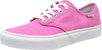 Vans Womenss WM Camden Stripe Low-Top Sneakers Pink ((Linen) Beetroot) 7d5747317