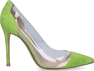 Gianvito Rossi Pumps PLEXI PVC suede green