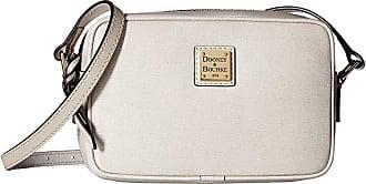 Dooney & Bourke Saffiano Camera Crossbody (Ecru/Ecru Trim) Cross Body Handbags