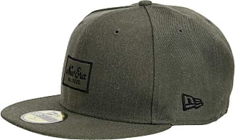 4248d706447 New Era Men Caps Fitted Cap Heather Script 59Fifty Olive 7 5 8-