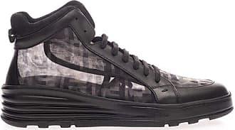 Fendi Fashion Man 7E1344AAX9F036N Black Polyamide Hi Top Sneakers | Spring Summer 20