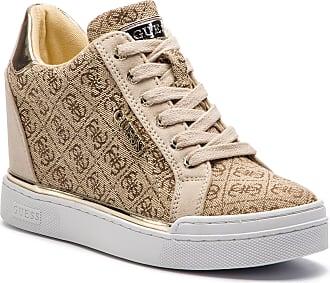 4bad9fb2 Guess Sneakers GUESS - Flowurs2 FL5FW2 FAL12 BROWN