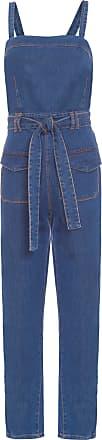 Dress To Macacão Denim Bolso - Azul