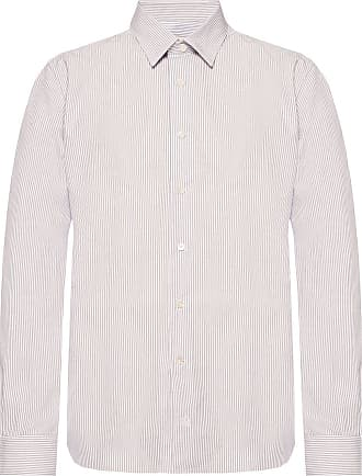 Lanvin Striped Shirt Mens White