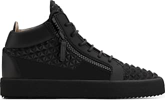 Giuseppe Zanotti 3D leather mid-top sneaker THE MANHATTAN