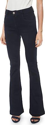 Morena Rosa Calça Jeans Morena Rosa Bootcut Carol Azul