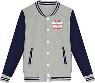 Juju Lets Vote and Make It So in 2020 Unisex Mens & Womens Baseball Uniform Jacket Sport Coat Gray
