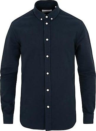 Samsøe & Samsøe Liam Button Down Shirt Dark Sapphire