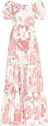 Caroline Constas Bardot stretch-cotton maxi dress