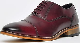 Ikon Classic Toby Leather Mens Burgundy