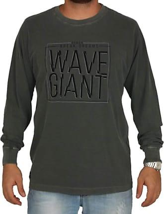 Wave Giant Camiseta Manga Longa WG Culture - Cinza - GG