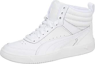 4ef2491f20918d Puma Rebound Street v2 Leder High-Tops Puma White-Puma White 10