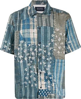 Natural Selection Camisa Panama - Azul