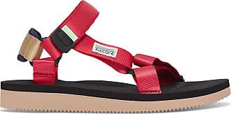 Suicoke Depa-cab sandals RED / BLACK 36