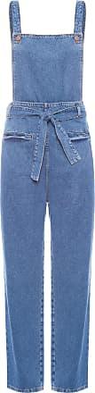Dress To Macacão Clochard Denim - Azul