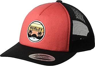 Hurley Womens Apparel Womens Retro Trucker Hat, Firewood Orange, One Size Fits All