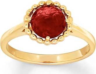 Kay Jewelers Garnet Ring 10K Yellow Gold