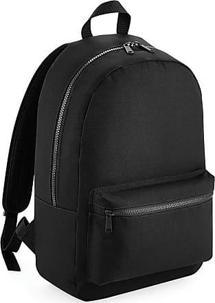 BagBase Bagbase Essential Tonal Backpack/Rucksack Bag (One Size) (Black)