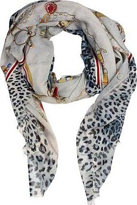 P-Modekontor Dames Sjaals in Wol (Grijs)