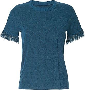 Onefifteen raw cuff T-shirt - Blue