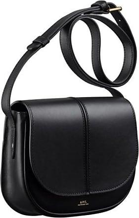 A.P.C. Schwarze Leder Betty Bag - leather | black - Black/Black