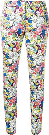 Ultra Chic Garbage print skinny trousers - Multicolour