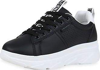 Scarpe Vita Women Platform Sneaker Prints Platform Front 190722 Black UK 3.5 EU 36