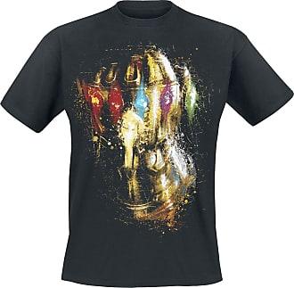 45bae0809d30 Avengers Endgame - Thanos Infinity Gauntlet - Herr-T-shirt - svart