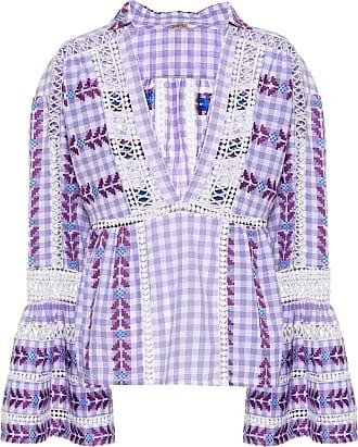 Dodo Bar Or Embroidered cotton top