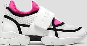 Msgm trainers with strap