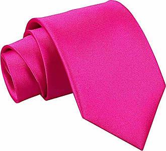 DQT Herren Gepunktet Regul/är Krawatte und Einstecktuch