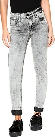 Hurley Calça Jeans Hurley Skinny Marmored Cinza