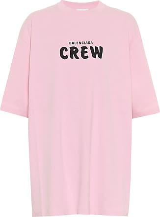 Balenciaga Oversized cotton jersey T-shirt