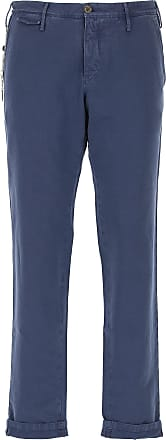 PT01 Pants for Men On Sale, Bluette, Cotton, 2017, 31 32 34 36