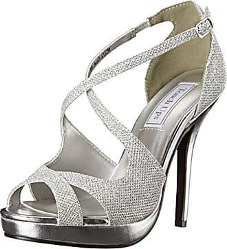 ecbebc99f9c6 Touch Ups Womens Dana Platform Dress Sandal Silver 6 M US