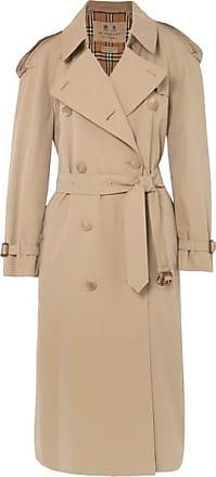 02588e66d9a0 Burberry Trench-coat Long En Gabardine De Coton The Westminster - Beige