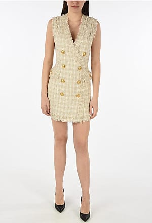 Balmain v-neck wrap dress Größe 40